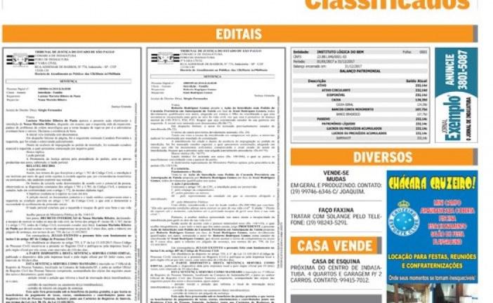 Classificados 29/05