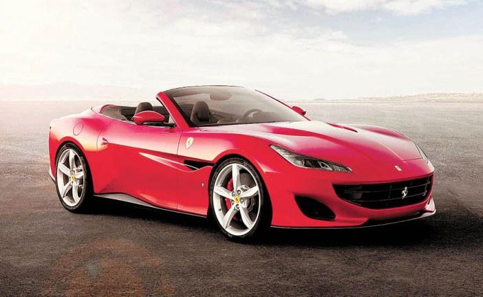 Ferrari Portofino já está no país