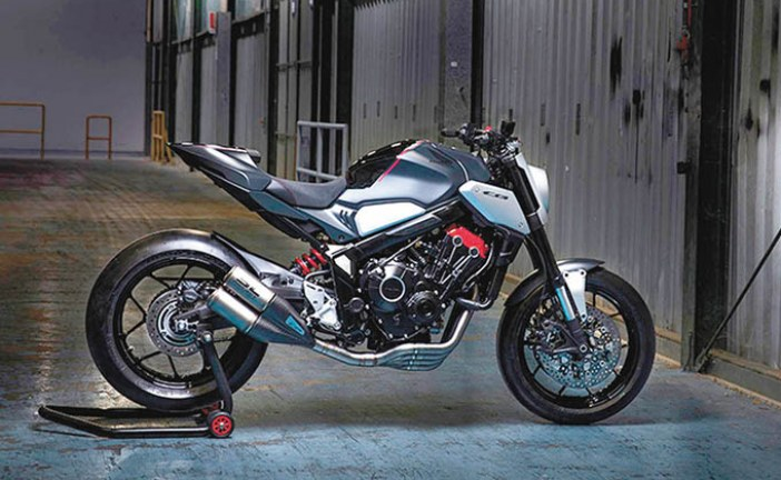 Honda leva a salão a 'Naked do Futuro'