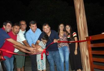 Inauguração do Quiosque Park Tirolesa