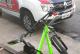 Guardas Civis conduzem autor de furto de bicicleta até a delegacia