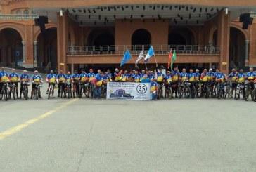 Grupo realizou a tradicional Romaria ciclística até o santuário