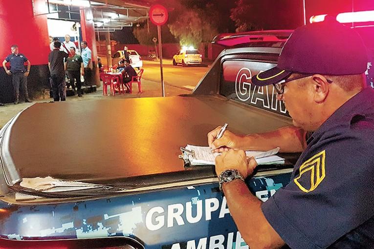 Operação Sossego nas Ruas teve notificações, multas e um auto de infração