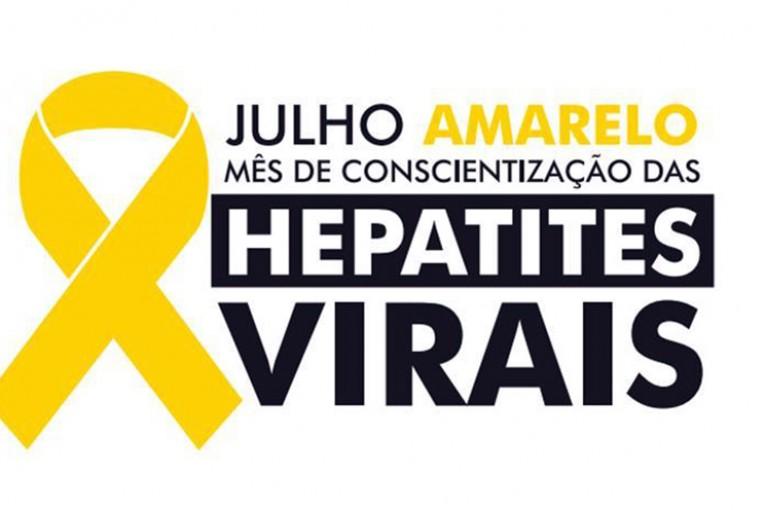 Julho Amarelo: Campanha ressalta a conscientização sobre as Hepatites Virais