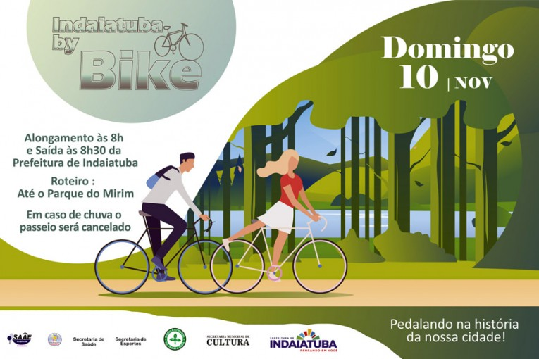 Neste domingo (10) acontece a última edição do ano do 'INDAIATUBA By Bike'