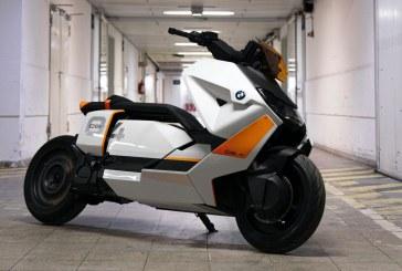 Motorrad CE 04 é scooter 100% elétrico
